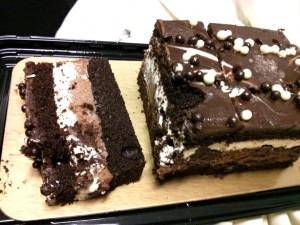 Postre: Tarta tres chocolates