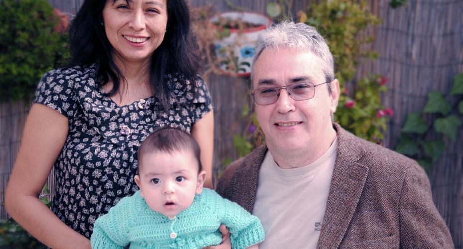 Ser tetraplejico no frenó mi sueño de ser padre