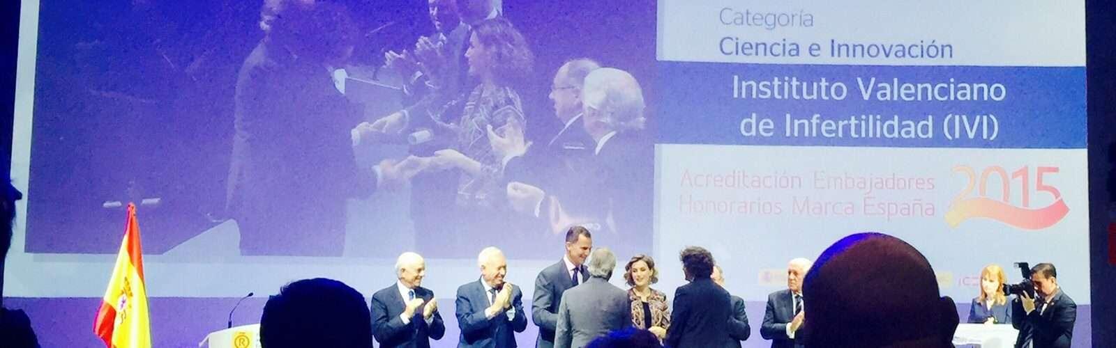 IVI Embajador Honorario de la Marca España