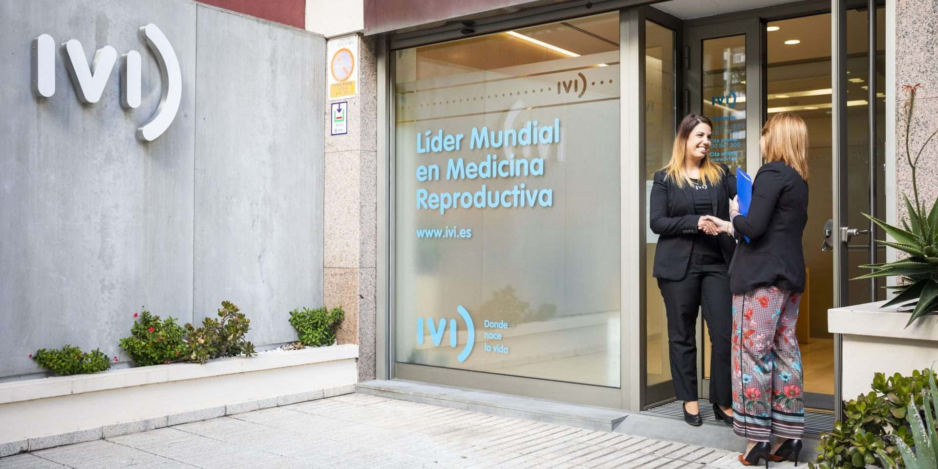 Exterior clínica de reproducción Tenerife