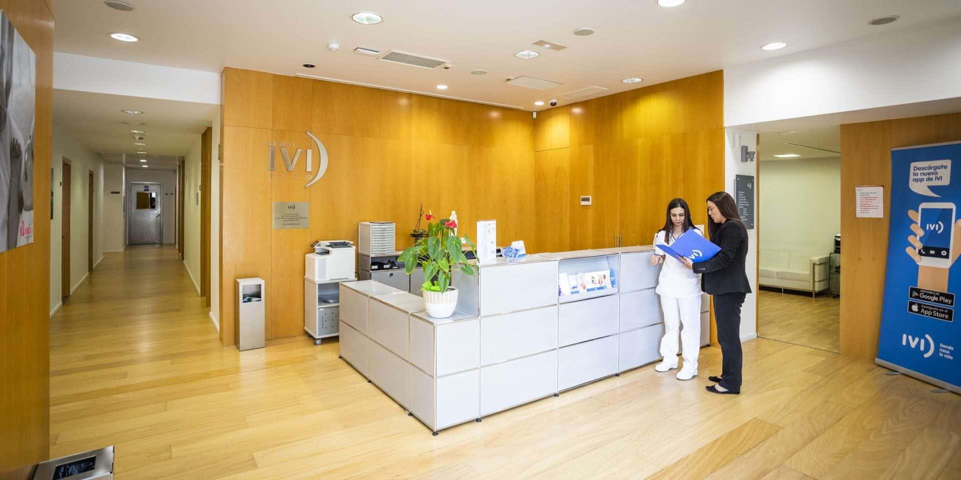 Recepción clínica de fertilidad Vigo