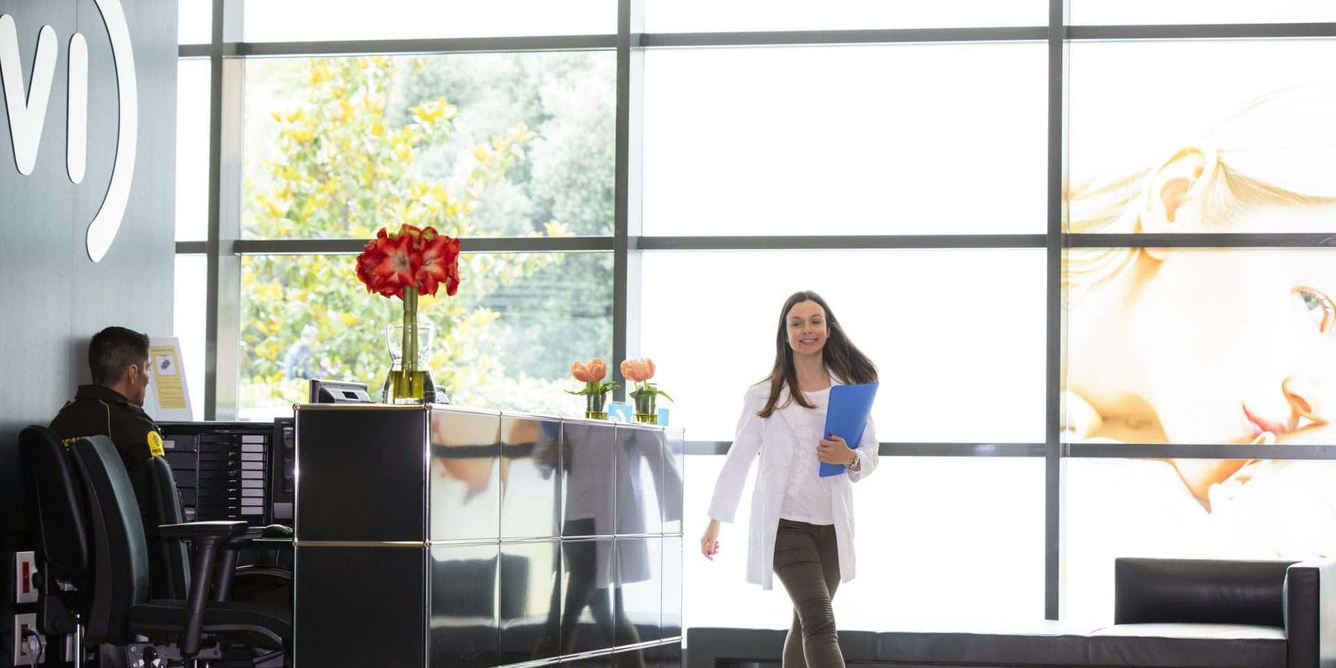 Instalaciones clínica de fertilidad Salamanca