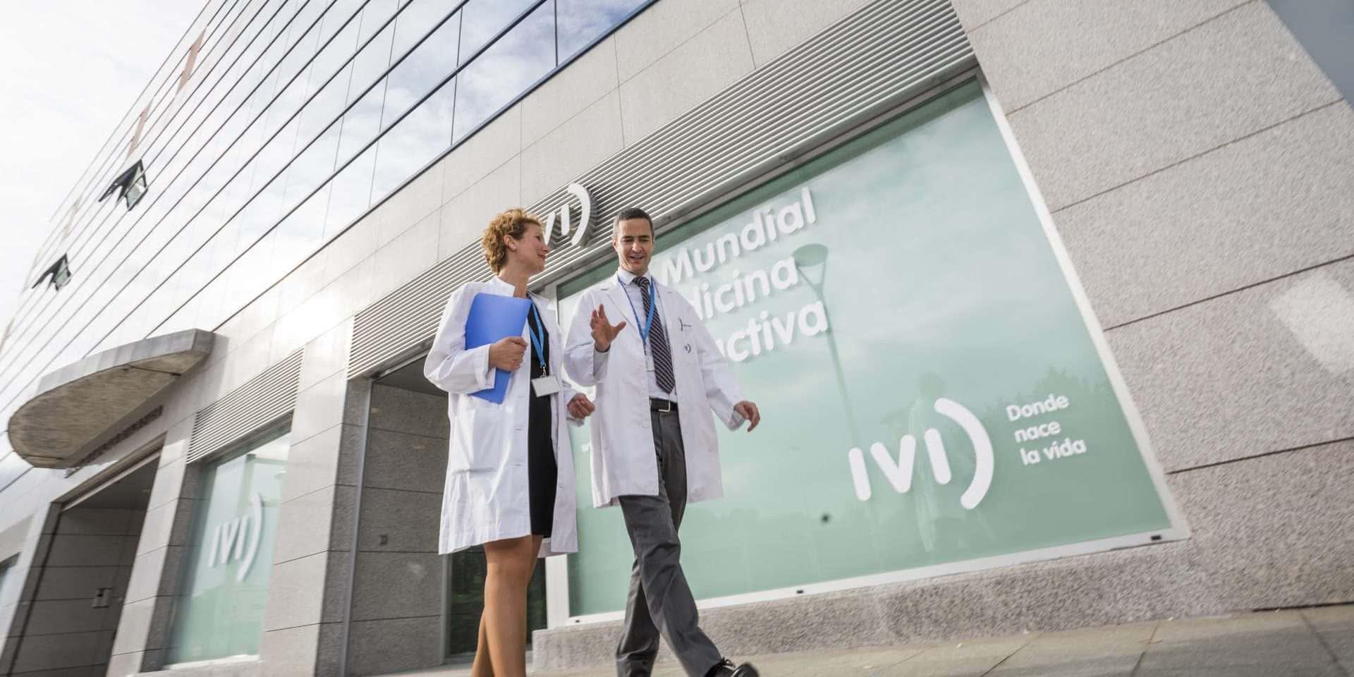 Médicos clínica de fertilidad Bilbao