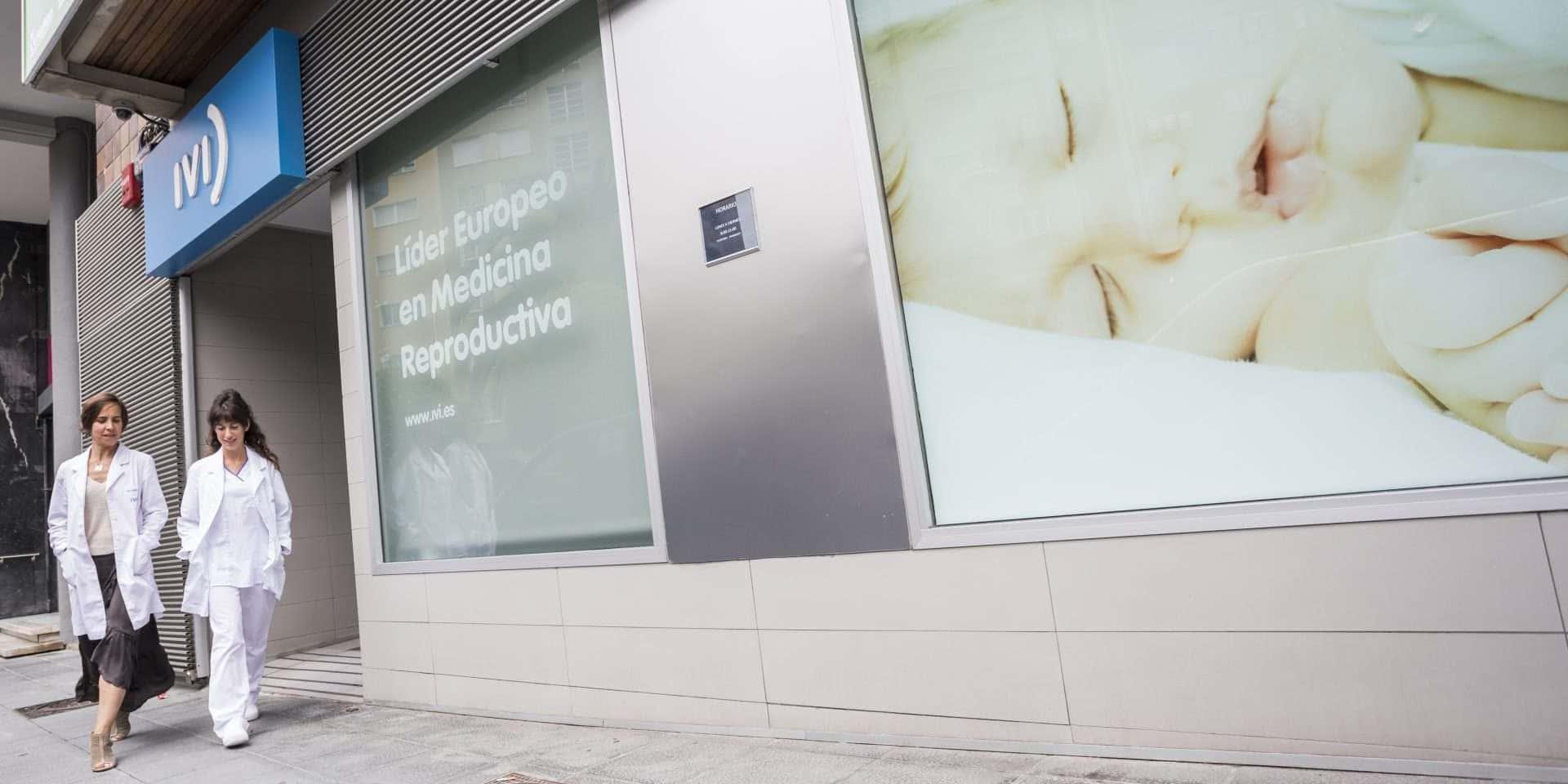 Exterior clínica de fertilidad Santander