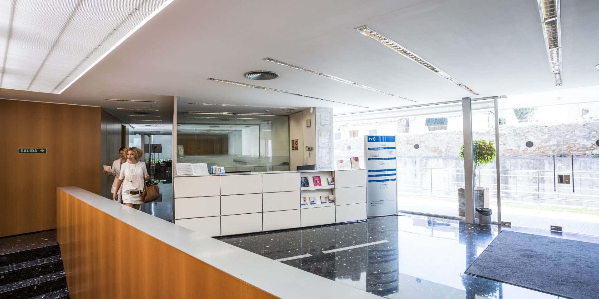 Interior clínica de fertilidad Manacor