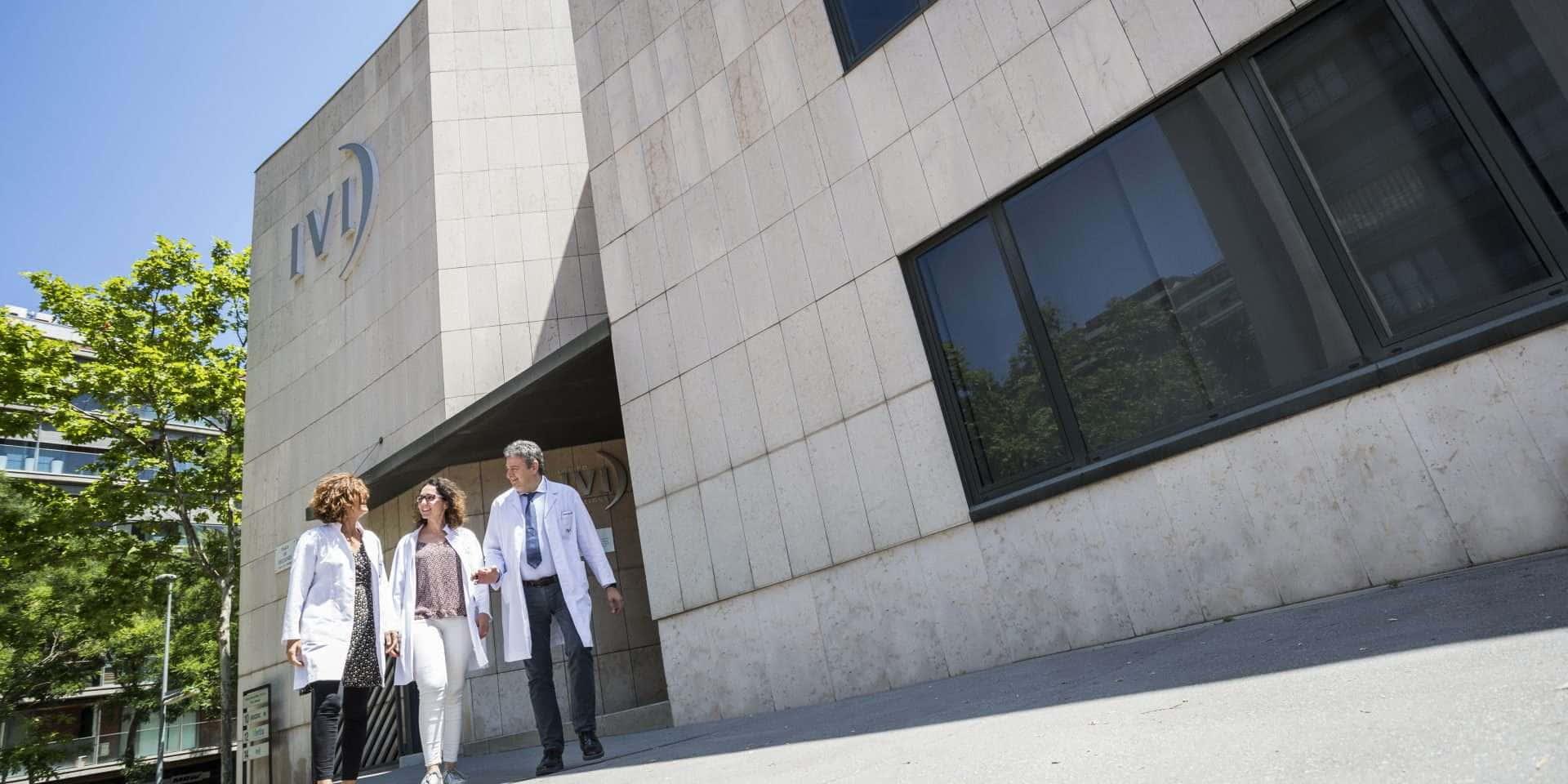 Médicos clínica de fertilidad de Barcelona