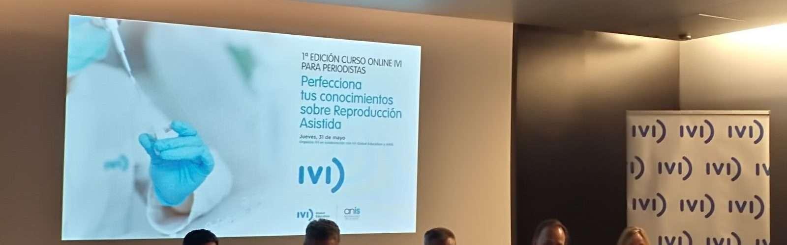 curso IVI de reproducción asistida para periodistas
