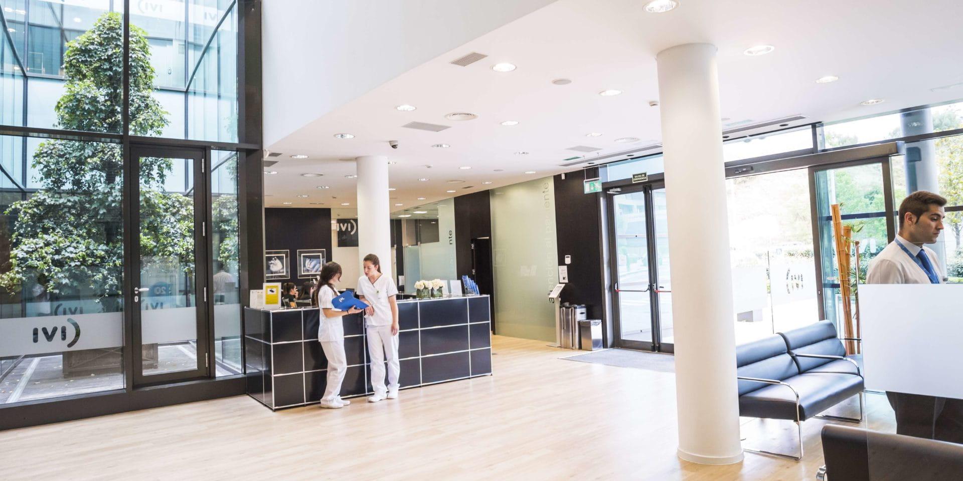 Instalaciones clínica de fertilidad Madrid Centro