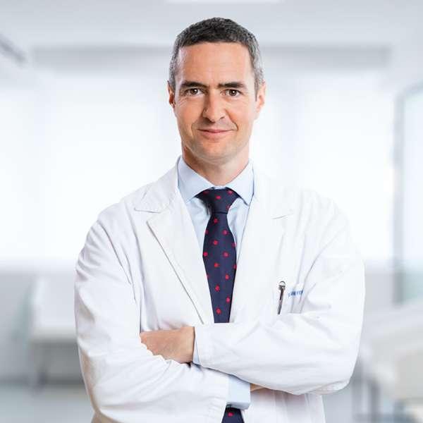 Dr. Marcos Ferrando, director de IVI Donostia