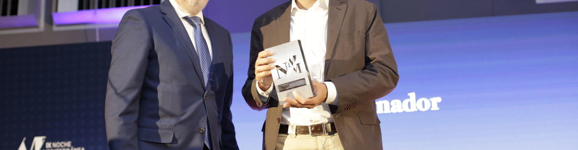 Recogida de premio