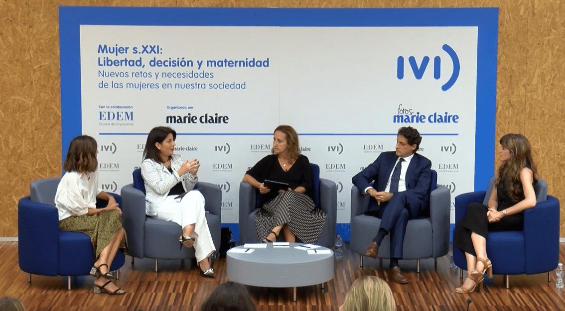 Marie Claire e IVI debaten sobre la mujer del sXXI