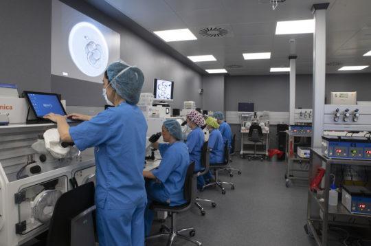 ¿Cómo preparamos el laboratorio de fecundación in vitro para generar embriones?